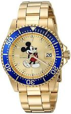 Invicta 25106 Disney Limited Edition Men's 40mm Automatic Gold-Tone Steel Watch