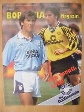 VORWORT Magazine: UEFA CUP match Gege Lazio, Ben Venuti , Lazio,14 marz 1995