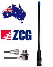 ZCG GRN480 UHF CB Flexi 4dbi Super Rugded Antenna +cable + Connector NEW