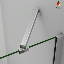 Aica 45cm Barra Stabilizzatrice Per Angolo Box Doccia Rinforzato In Alluminio