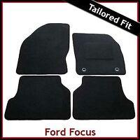 FORD FOCUS Mk2 2004-2011 Tailored Carpet Car Floor Mats BLACK
