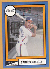 METROS DE SAN JUAN 1988-89 BB TEAM SET PUERTO RICO WITH C BAERGA AND JAVY LOPEZ