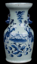 Cina 19. secolo. - A Chinese Blue & White colonnine vaso-occlusiva cinese chinois Qing