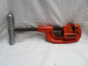 """Ridgid No. 1A Pipe Cutter 1/8"""" to 1-1/4"""" (Nice Condition)"""