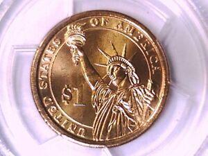 2009 P William Henry Harrison Dollar PCGS MS 67 Position B 14255350