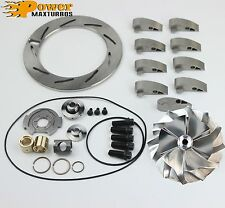 05-07 Powerstroke 6.0 GT3782VA Turbo Billet Wheel Rebuild kit 9Vanes Unison Ring