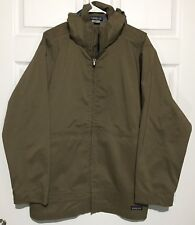 Patagonia 3-in-1 Brown Removable Hooded Nylon Rain Jacket Shell Only Mens M EUC