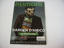 RUMORE RIVISTA #276 - DARGEN D'AMICO - TWIN PEAKS - JOHN GARCIA - BRANT BJORK
