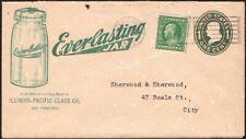 U.S., 1912. Adv Cover:Glass, San Francisco (3270) Local