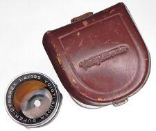 Voigtlander 135mm f4 Super-Dynarex DKL mount  #5619896 ......... Minty