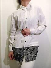 White Shirt dress With Bandana Detail Size 12UK