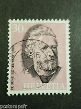 SUISSE SCHWEIZ 1974, timbre 958, EUGENE BOREL, CELEBRITE, CELEBRITY, oblitéré