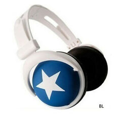 3.5mm Over-Ear Adjustable Star Funky DJ Headphones for Kids Childrens MXT