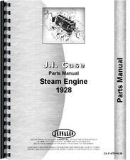 Case Steam Engine Parts Manual Catalog 1928