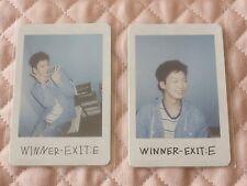 (ver. Seunghoon) Lot of 2 WINNER EXIT : E Mini Album Polaroid Photocard A VER.