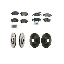 Audi A4 Quattro A5 Quattro Q5 Front & Rear Brake Rotor Kit with Pads and Sensor
