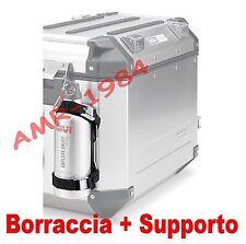 SET SOPORTE + BOTELLA GIVI E162 + STF500S ACERO INOXIDABLE x OUTBACK e DOLOMITI