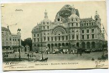 CPA - Carte Postale - Belgique - Anvers - Gare Centrale
