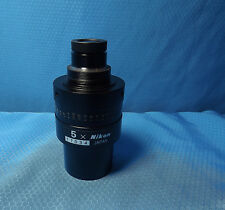 Nikon Toolmakers Microscope 5X Objective Lens