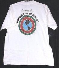 HOOKED on PHONICS Gateway Educational Products White 2-Sided T Shirt Size LARGE