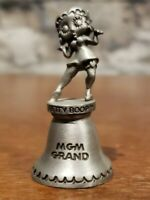 Betty Boop MGM Grand 1993 Pewter Bell