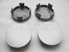 4x Nabenkappen Felgendeckel Nabendeckel Ø 63mm-59mm Silber Felgenkappen NEU