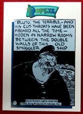 POPEYE - Card #38 - FIRST APPEARANCE OF BLUTO - Card Creations - 1994