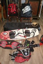Naish Kite Sailing Set Up W/ 2 Harnesses And 2 Sails And Other Gear