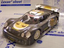 1/8 Mercedes CLK RC Car Body clear Shell GT 1.5mm Serpent Traxxas Slash 0142/1.5
