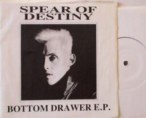 "SPEAR OF DESTINY - Bottom Drawer EP  ~ 7"" Single PS #096"