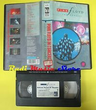 VHS PINK FLOYD in concert DELICATE SOUND OF THUNDER PMI MVN 9911863 cd mc (VM4)