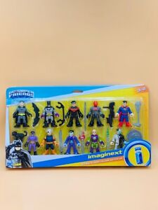 Imaginext DC Super Friends Ultimate Hero Villain Match-Up Figure 10-Pack