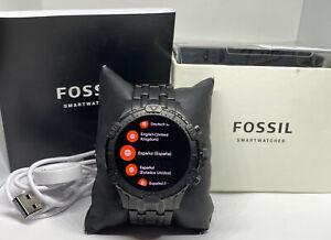 Fossil Garrett FTW4038 Gen 5 Men's Stainless Steel Digital Dial Smartwatch FS52