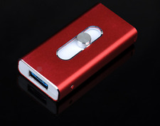 128GB  New OTG Dual USB Memory i Flash Drive U Disk For IOS iPhone iPad/PC
