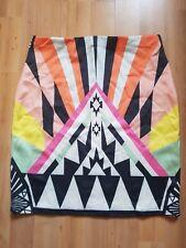 Azteca Estilo Mini Falda de material elástico Super Ideal Para Una Noche O Casual