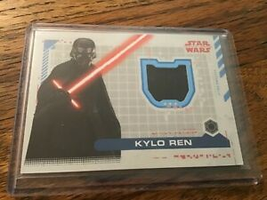 Topps Star Wars Episode 9 Rise of Skywalker Costume Relic Kylo Ren Trousers /99