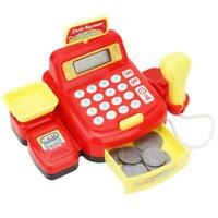 Simulated Supermarket Electronic Cash Register Play Toys Pretend Role Kids Gift
