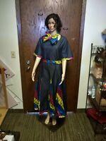 Women african print dress