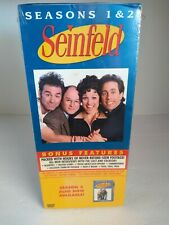 SEINFELD - Seasons 1 & 2 4-Disc DVD Box Set Brand NewFactory Sealed
