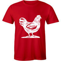 Personalised Chicken Hen Do Night Mens T-shirt Animal lover Hens Party Tee Funny