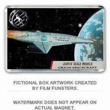 AIRFIX INSPIRED BOX ART: '2001 a Space Odyssey' ORION JUMBO FRIDGE MAGNET