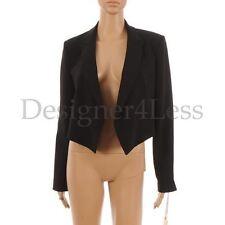 Wool Blazer Cropped Coats & Jackets for Women