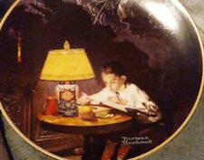 Coll Plate Norman Rockwell plate # 5318 path of glory.