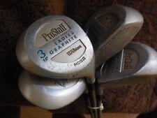 Wilson ProStaff Ladies Golf Clubs -  9 Clubs Ladies Graphite Shafts
