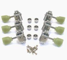 Wilkinson 3x3 Nickel Vintage Tuners for Gibson/Epiphone Les Paul SG® WJ443N