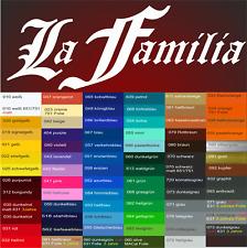 La Familia Style Aufkleber Sticker Italien Mafia Shocker JDM OEM Auto Familie