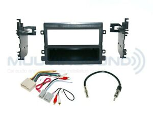 Radio Stereo Installation Dash Kit Combo Single DIN + Wire Harness + Antenna F45