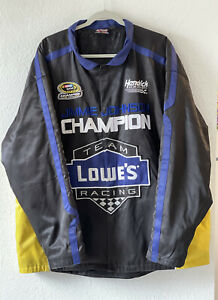 Men's Jimmie Johnson 2013 Sprint Cup Champion Chase Authentic's XXL Jacket