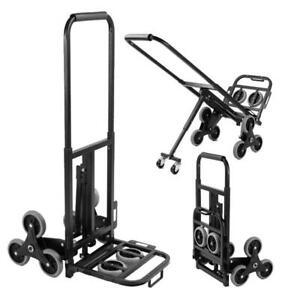 Hand Trolley Stair Climber Sack Barrow Truck Cart 6 Wheel Heavy Duty 150kg