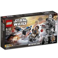 LEGO STAR WARS 75195 Microfighter 5 DUAL PACK SKI SPEEDER VS FIRST ORDER WALK...